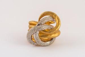 טבעת זהב צהוב  - תכשיטי הנסיכה